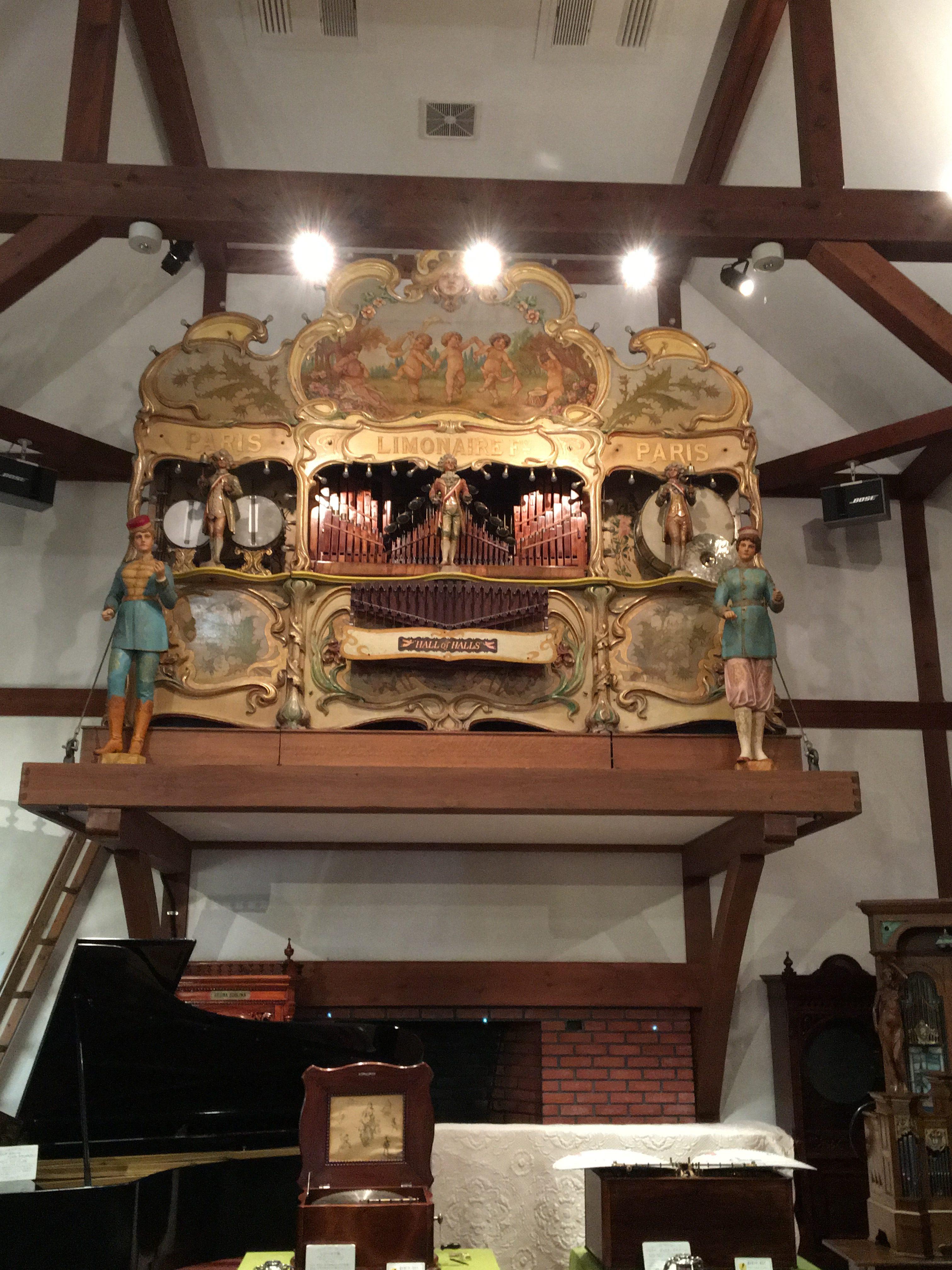 自動演奏オルガン オルガン オルゴール フランス リモーネ1900 ホール・オブ・ホールズ オルゴール博物館 清里